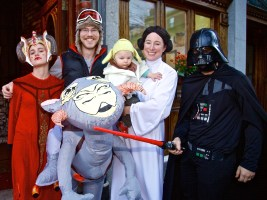 The Wine Bottega crew takes Halloween to a galaxy far, far away.