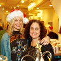 Marian (right) and Lindsey at Shake the Tree on Salem Street