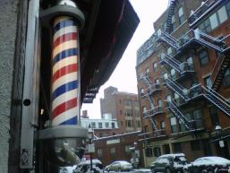 Firicano&#039;s Barber North St by K Krueger