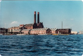 Lincoln Wharf and Union Wharf 1979 - Photo by Diana Blum Manter
