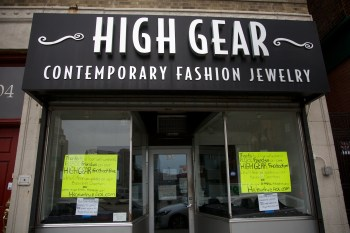 High Gear Closed on Hanover St. - Feb 2013