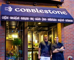 Cobblestone Cafe Opening - April 2013 69
