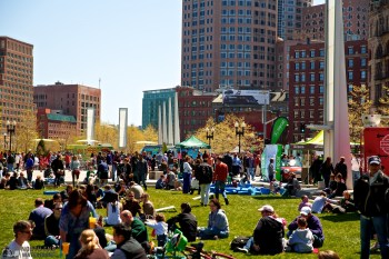 Food Truck Throwdown in Wharf District Greenway Lawn