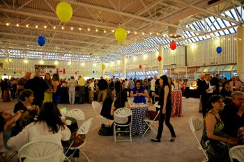 The floor at 2013 Taste of the North End