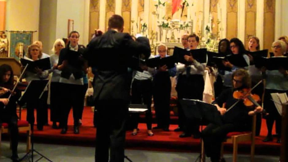 "Music Video: ""Dona Nobis Pacem"" Performed by St. Leonard Choral Society"
