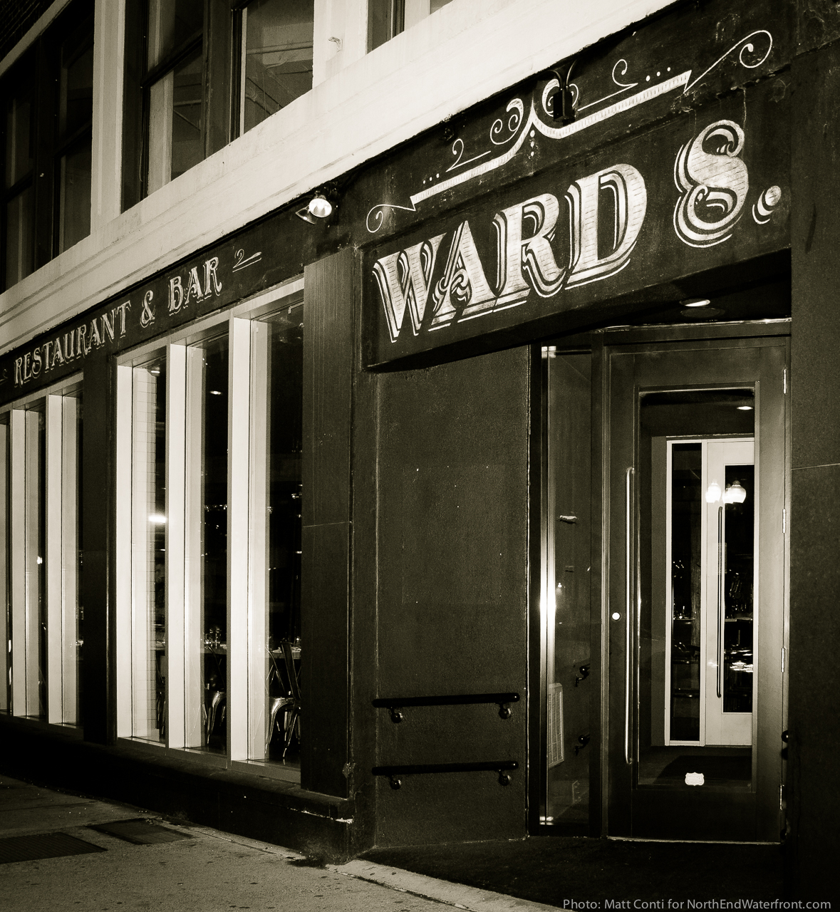 Ward 8 Restaurant & Bar at 90 N. Washington Street