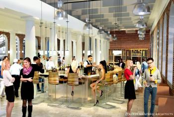 Faneuil Hall Rendering Food Court