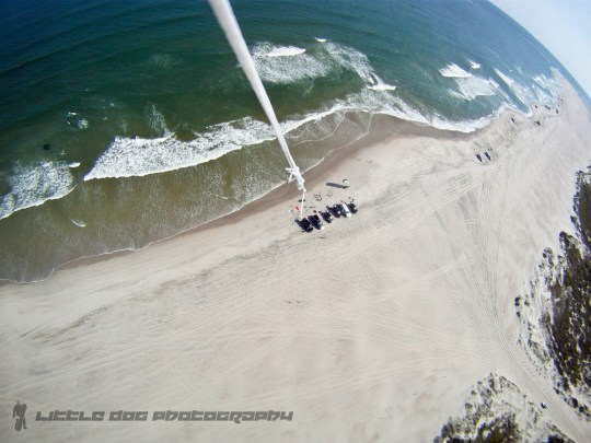 gopro 1 300x225 Creative photography from 300 above Ocracoke, NC