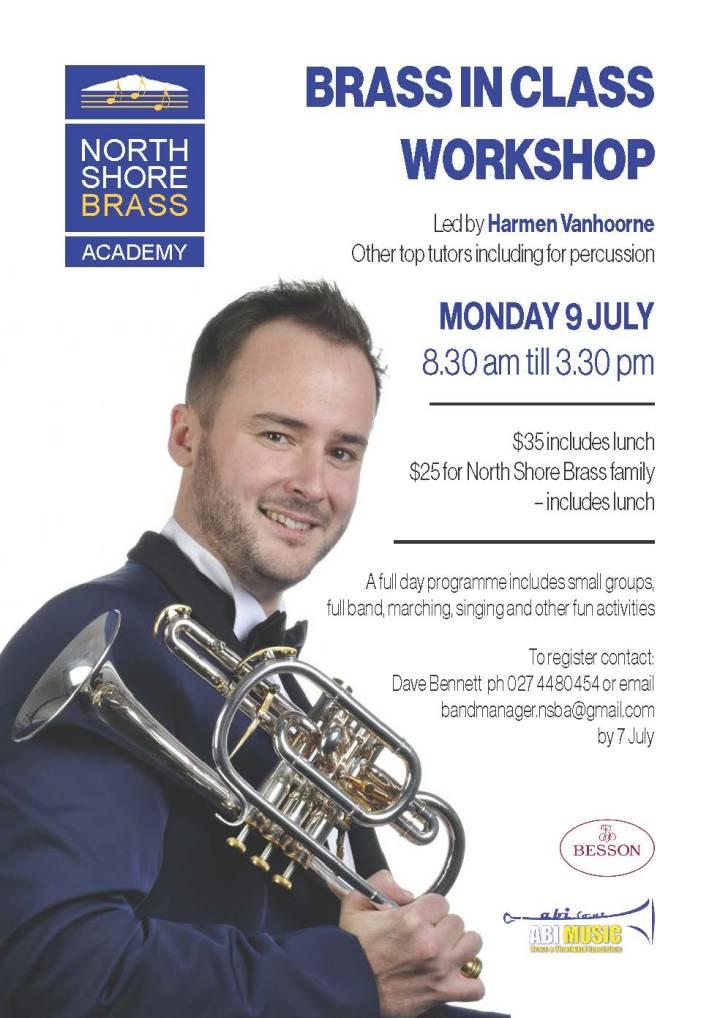 North Shore Brass Academy workshop - A4