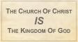 Church Is Kingdom