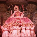 Mother Ginger and the Peppermints in The Nutcracker. Photo: Redding City Ballet.