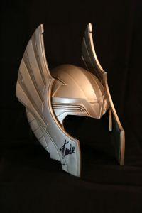 Thor Helmet Stan Lee
