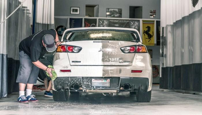 24-step hand wash car wash