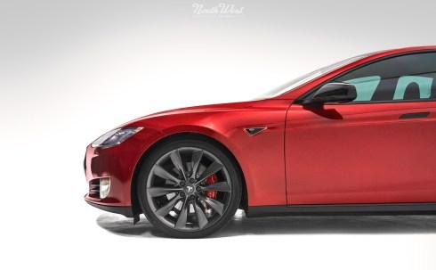 Tesla-Model-S-P85D-XPEL-Ultimate-wrap-chrome-delete-black-mirrors-trims
