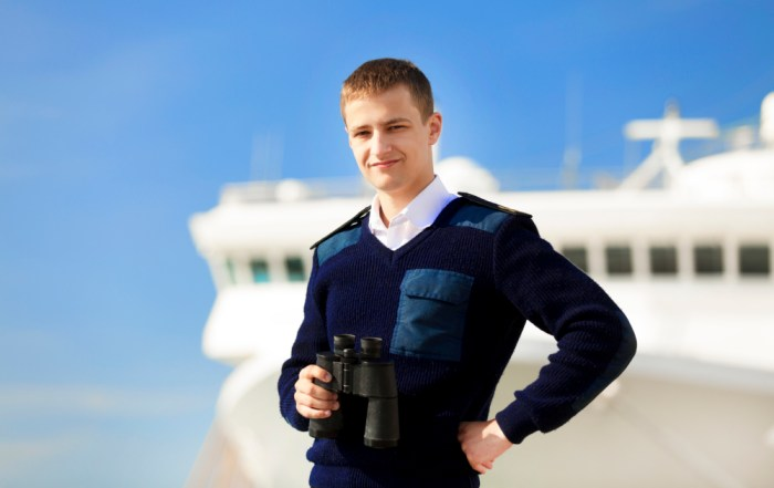 boatswain near the boat