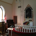 Hauge Lutheran Church Interior