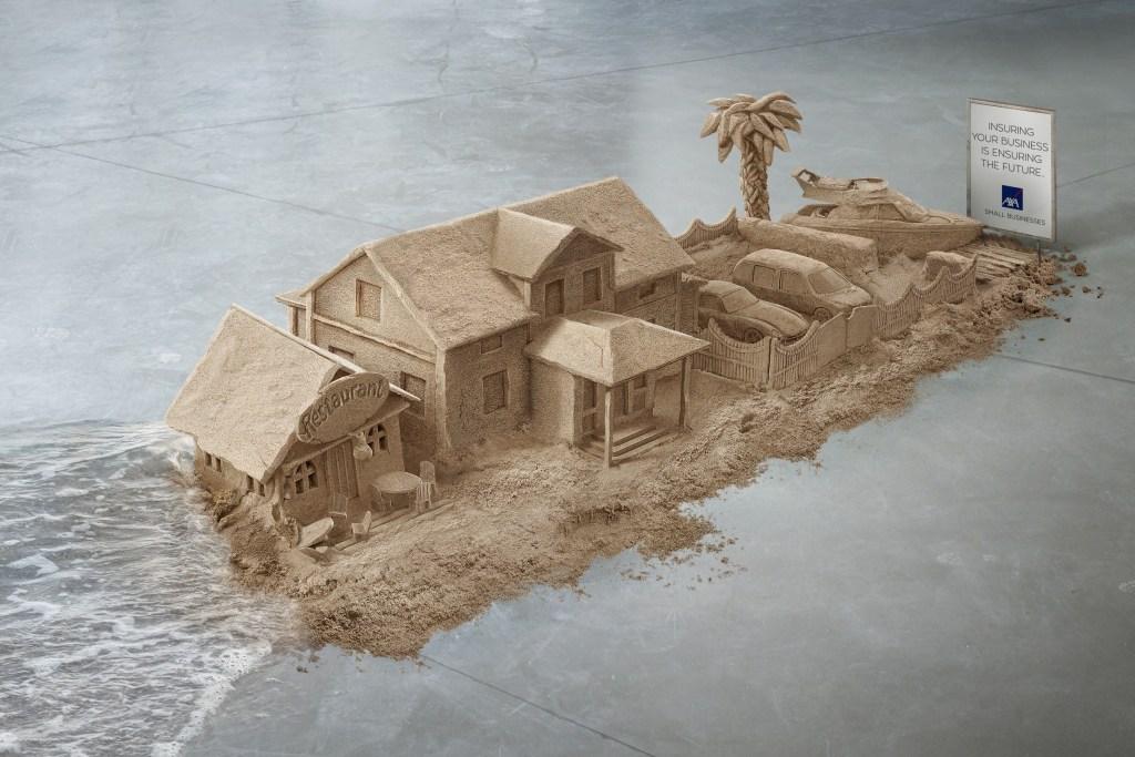 AXA Insurance - Sand