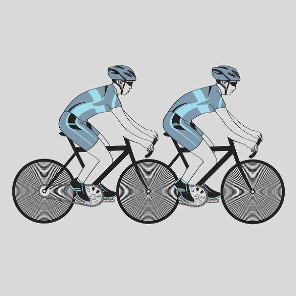 Cycling Illusion