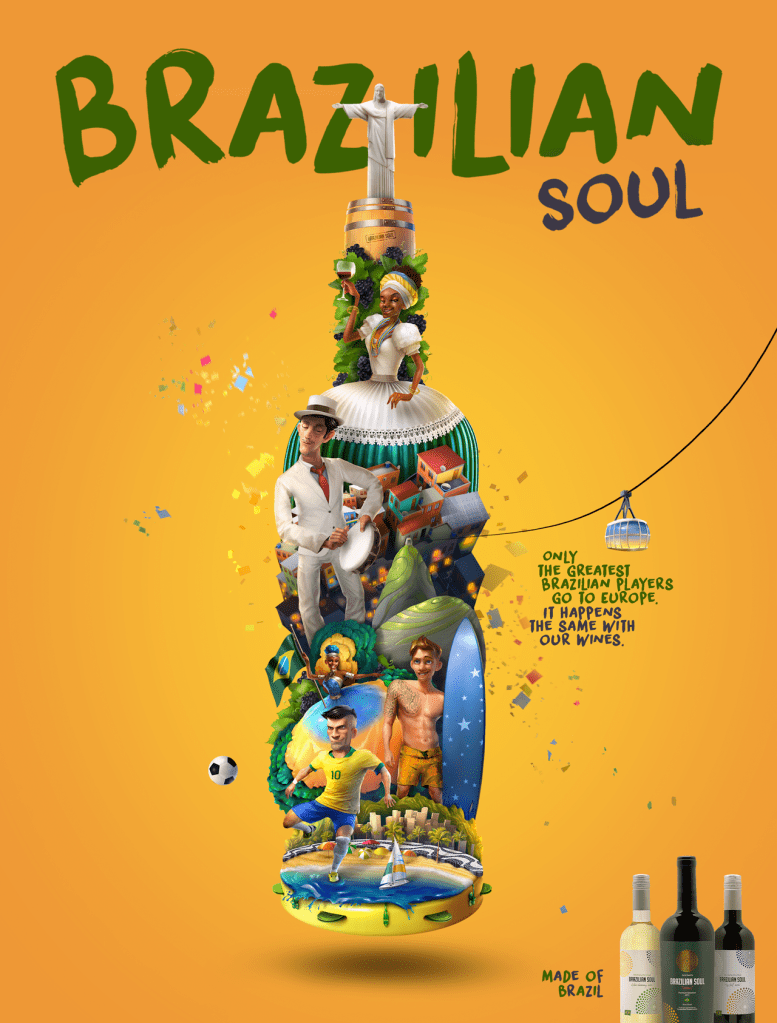 Vinícola Aurora Brazilian Soul - Made of Brazil