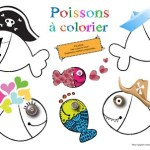 poissons coloriage