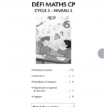Printables gratuits de maths - défi maths CP