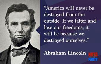 quotes-abraham-lincoln-lose-freedom-within-ourselves-warning