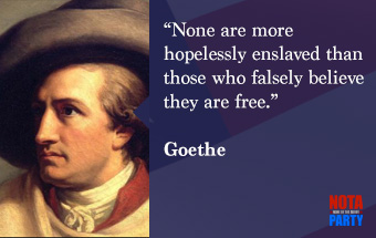 quotes2-goethe-freedom-hopelessly-enslaved-believe-german-philosopher