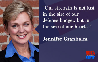 quotes3-jennifer-granholm-quote-military-spending-veterans-war-waste-weapons-michigan-governor