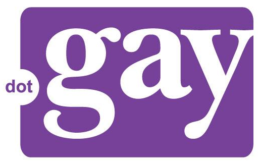 Logo of dotGAY campaign taken from their website: www.dotgay.com