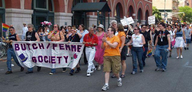 Butch Femme Society, 2007, by David Shankbone, Wikimedia Commons