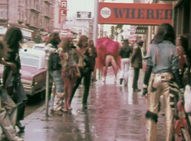 San Francisco street scene from Peter Berlins That Boy 1974).