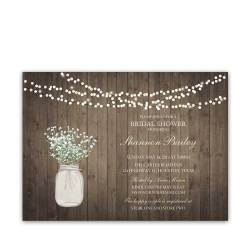 Small Of Rustic Bridal Shower Invitations
