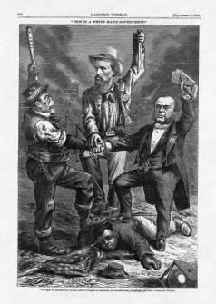 Nast cartoon of Democratic Party Platform 1868
