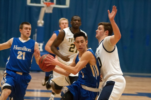 Joseph Lin '15 as taken his game to another level this season for the Continentals. (Courtesy of Hamilton Athletics)