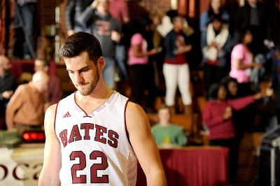 The disappointment was evident for Adam Philpott '15 and Co. after the loss on Saturday, but Bates still resides on the Pool C bubble for the NCAA Tournament.