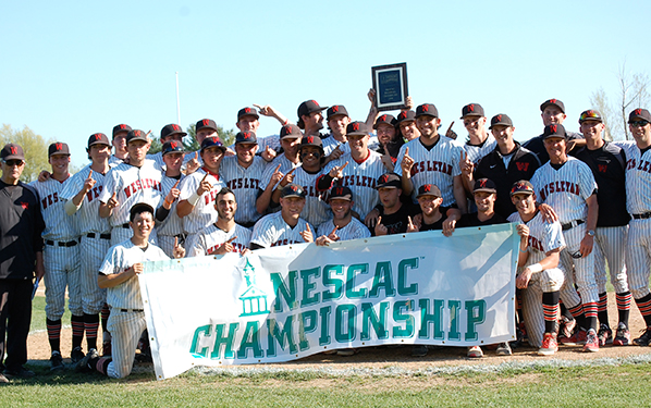 Wesleyan captured the program's first ever NESCAC title in 2014. We think they get their second one this year. (Courtesy of Tufts Sports Information/NESCAC.com)