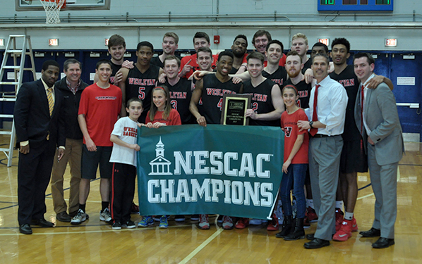 The Wesleyan Cardinals are NESCAC champions. (Courtesy of NESCAC.com)