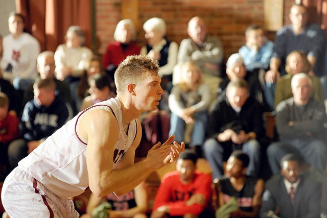 As always, Graham Safford '15 will be the driving force behind the Bobcats attack. (Courtesy of Daryn Slover/Bates College Athletics)