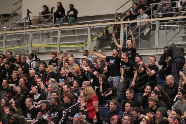 The Stockton faithful will be louder than ever as the Ospreys play for a Sweet 16 berth. (Courtesy of Stockton Athletics)
