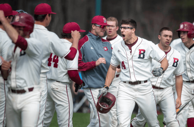 Nate Pajka '15 won NESCAC Player of the Week Honors as Bates advanced to the playoffs. (Courtesy of Bates Athletics)