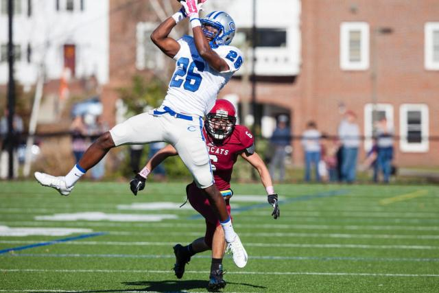 WR Mbasa Mayikana (Couresty of Sarah Crosby/Bates College Athletics)