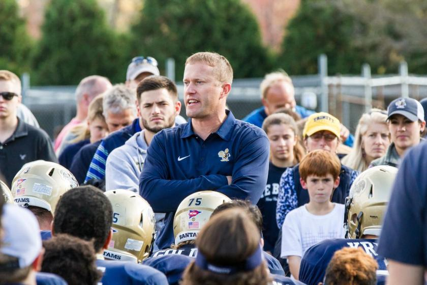 Jeff Devanney has led the Trinity program to a 60-12 record in nine seasons as head coach, including two undefeated seasons, and in 14 years with the program he has coached the No. 1 defense in the country five times.