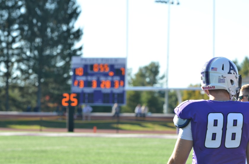 Amherst has quite the streak going ... will it continue when they travel to Medford this weekend? (Photo by Joe MacDonald)