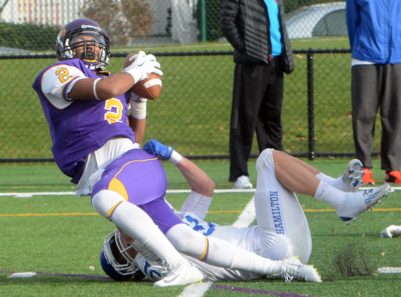 The Hamilton Continentals were able to drag down the Ephs in Williamstown for the first time in nearly four decades. (Courtesy of Williams College Athletics)