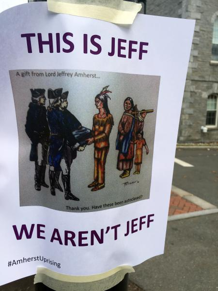 """Amherst College will no longer use the name """"Lord Jeffs"""" - long an unofficial mascot for the school's athletic teams. (Greg Saulmon/Gazettenet.com)"""
