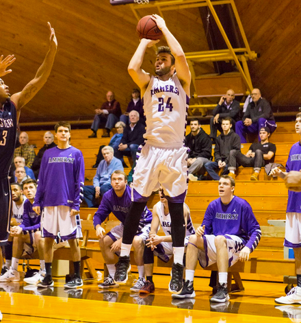 Connor Green '16 isn't ready to stop shooting just yet. (Courtesy of Amherst Athletics)