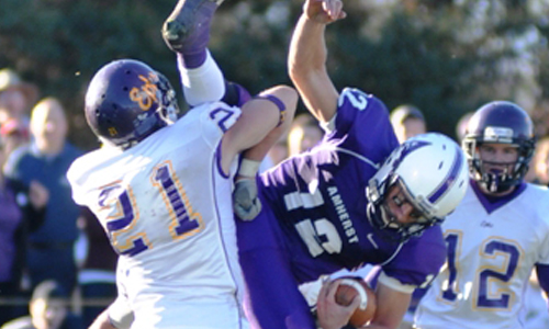 The Ephs topped Amherst in 2010 to win the NESCAC Championship (Courtesy of Williams Athletics).