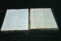 Bíblia é encontrada intacta em meio a destruição causada por incêndio em residência