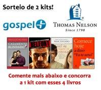 Comente e Ganhe: Editora Thomas Nelson e Gospel+ sorteiam kits com lançamentos de Max Lucado, Vitor Belfort, entre outros