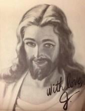 """Site leiloa quadro com """"retrato"""" e """"autógrafo"""" de Jesus e vira piada na internet"""